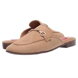 NEW Tan Loafer Mules